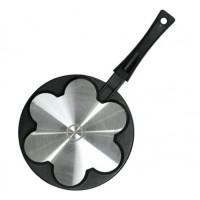 Сковорода-оладница с антипригарным покрытием