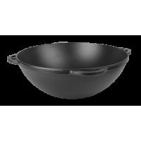 Казан азиатский с крышкой-сковородой в матовом покрытии