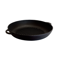 Сковорода-гриль круглая