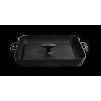 Сковорода-гриль квадратная с прессом