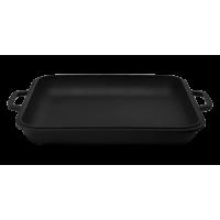 Крышка-сковорода порционная квадратная в матовом покрытии